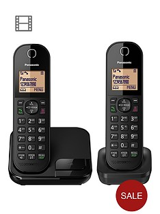 panasonic-kx-tgc412ebnbspdigital-cordless-phone-twin