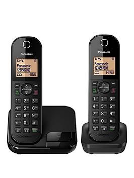 Panasonic Kx-Tgc412Eb - Twin