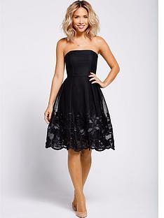 myleene-klass-embroidered-hem-prom-dress-black
