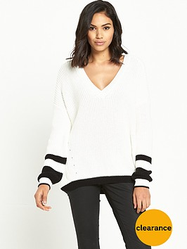 river-island-colour-block-jumper-with-lattice-back-detail
