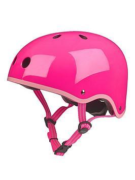 micro-scooter-helmet-neon-pink