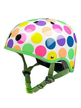 micro-scooter-micro-safety-helmet-neon-dot-patterned-small