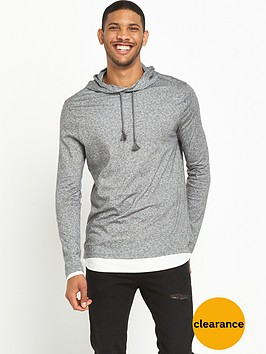 river-island-double-layererd-hooded-top