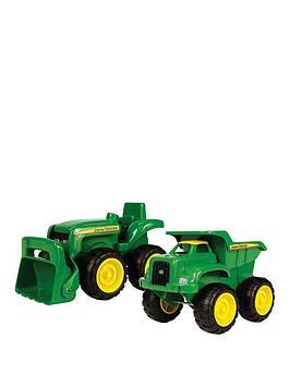 mini-sandbox-tractor-and-dump-truck-set