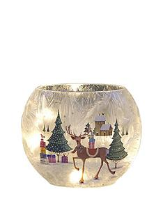 lit-led-glass-oval-vase-with-reindeer-and-trees-christmas-scene
