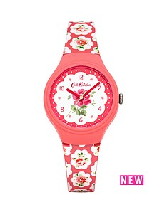cath-kidston-provence-rose-floral-printed-dial-silicone-strap-ladies-watch