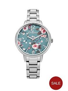 cath-kidston-cath-kidston-trailing-rose-blue-photo-print-dial-silver-metal-bracelet-ladies-watch