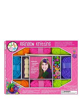 rainbow-knitting-kit