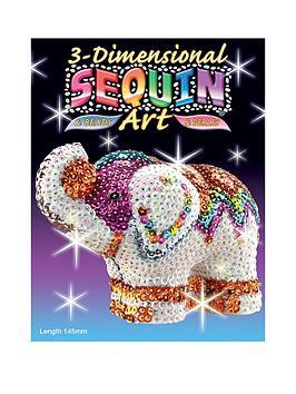 3d-sequin-art-elephant