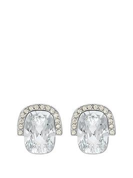 lola-and-grace-lola-amp-grace-silver-tone-plate-square-stone-earrings-made-with-swarovski-elements