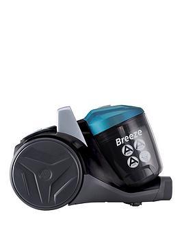 Hoover Breeze Br71Br01 Bagless Cylinder Vacuum Cleaner - Green/Grey/Black
