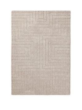 carved-maze-wool-rug