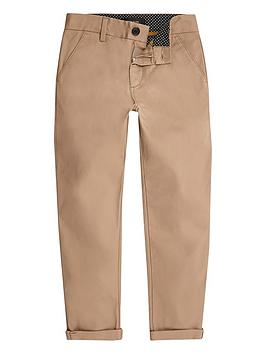 river-island-boys-tan-slim-chino-trousers