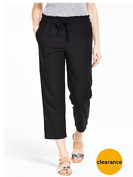 v-by-very-petite-linen-mix-crop-trousers