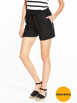 v-by-very-linen-mix-shorts