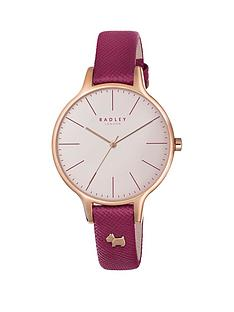 radley-radley-wimbeldon-white-dial-pink-leather-strap-dog-charm-ladies-watch
