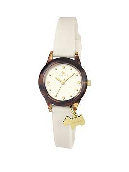 radley-radley-watch-it-cream-dial-cream-silicone-dog-charm-strap-ladies-watch