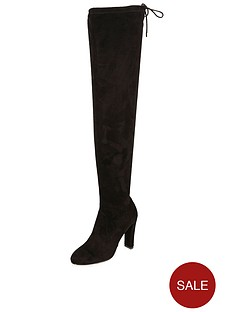 river-island-heeled-over-the-kneenbsptie-back-boot