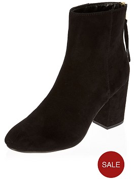 river-island-new-ranch-clean-back-zip-ankle-boot