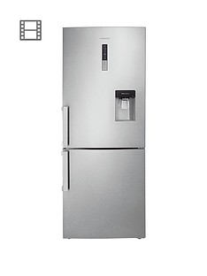 Samsung RL4362FBASL/EU 70cm No Frost Fridge Freezer with SpaceMax Technology and 5 Year Samsung Parts and Labour Warranty - Silver