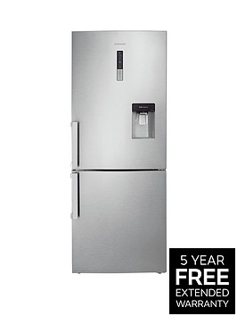 samsung-rl4362fbasleu-70cm-no-frost-fridge-freezer-with-spacemax-technology-silver