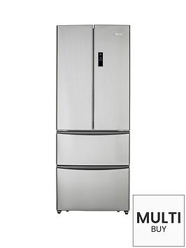 hoover-hmn7182ixuk-70cm-american-style-4-door-fridge-freezer-stainless-steel