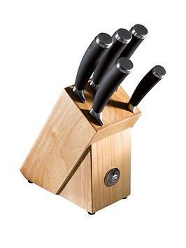 raymond-blanc-by-anolon-raymond-blanc-6-piece-knife-block-set