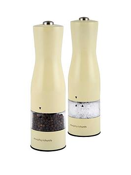 morphy-richards-accents-electric-salt-and-pepper-mills-ndash-cream
