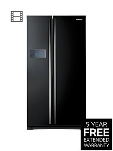 Samsung RS7527BHCBC/EU No Frost American-Style Fridge Freezer with Twin Cooling Plus - Black