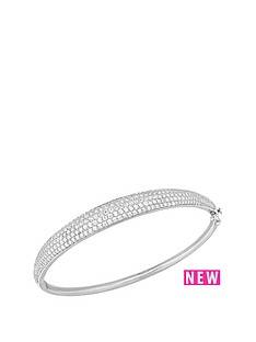 love-silver-sterling-silver-plated-with-rhodium-cubic-zirconia-set-bangle