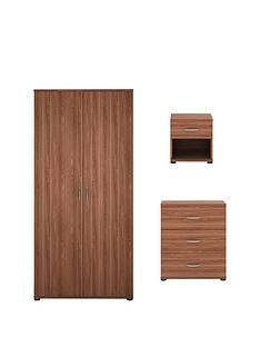 alpha-3-piece-package-2-door-wardrobe-3-drawer-chest-and-bedside-cabinet-buy-and-save