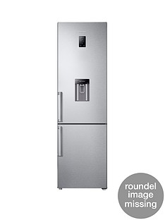 Samsung RB37J5920SL/EU 60cm Frost-Free Fridge Freezer with All-Around Cooling System and 5 Year Samsung Parts and Labour Warranty - Silver
