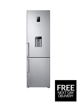 samsung-rb37j5920sleunbsp60cm-frost-free-fridge-freezer-with-all-around-cooling-system-silverbr-5-year-samsung-parts-and-labour-warranty