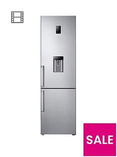 samsung-rb37j5920sleunbsp60cmnbspwide-frost-free-fridge-freezer-with-all-around-cooling-system-and-5-year-samsung-parts-and-labour-warranty-silver