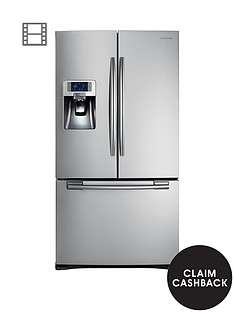 samsung-rfg23uers1xeu-french-door-side-by-side-fridge-freezer-with-twin-cooling-plus-silver