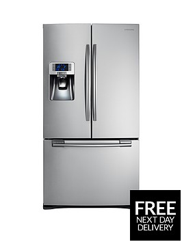 samsung-rfg23uers1xeu-french-door-side-by-side-fridge-freezer-with-twin-cooling-plus-silverbr-5-year-samsung-parts-and-labour-warranty