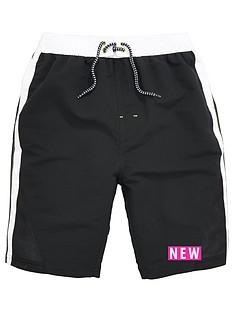 v-by-very-boys-contrast-panel-airtex-swim-shorts