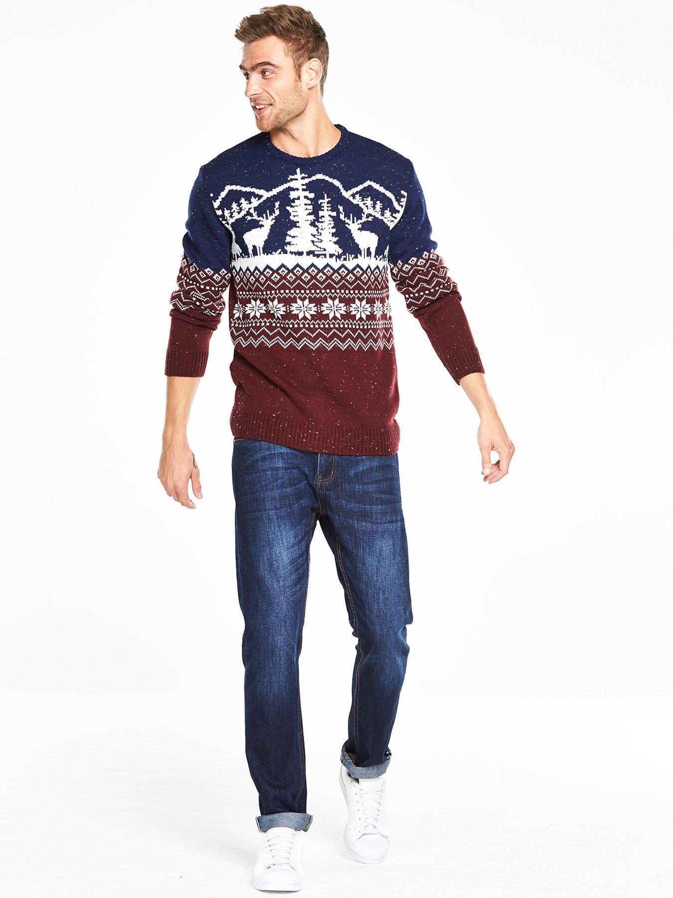 V by Very Christmas Nepp Jumper