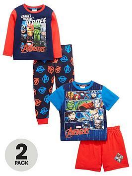 marvel-boys-long-and-short-pyjamas-2-pack