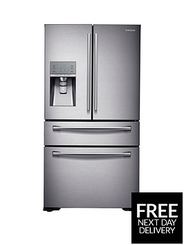 samsung-rf24hsesbsreu-french-door-side-by-side-fridge-freezer-with-sodastream-silver-5-year-samsung-parts-and-labour-warranty
