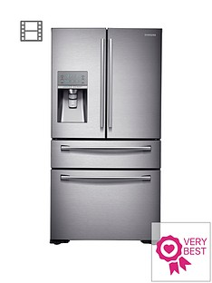 Samsung RF24HSESBSR/EU French Door Side By Side Fridge Freezer with SodaStream - Silver