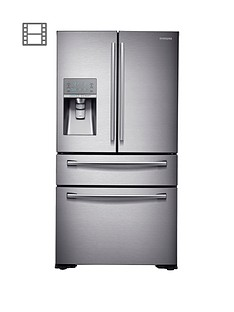 Samsung RF24HSESBSR/EU French Door Side By Side Fridge Freezer with SodaStream - Silver Best Price, Cheapest Prices