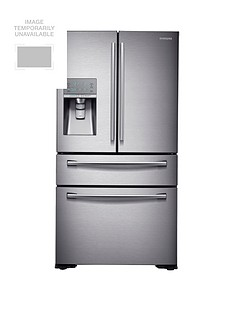 Samsung RF24HSESBSR/EU French Door Side By Side Fridge Freezer with SodaStream and 5 Year Samsung Parts and Labour Warranty - Silver Best Price, Cheapest Prices