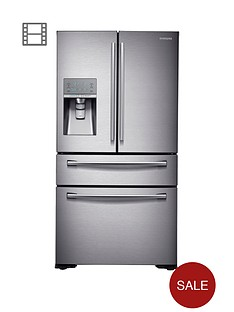 samsung-rf24hsesbsreu-french-door-side-by-side-fridge-freezer-withnbspsoda-stream-silver