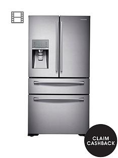 samsung-rf24hsesbsreu-french-door-side-by-side-fridge-freezer-withnbspsodastream-silver