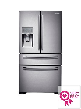 samsung-rf24hsesbsreu-french-door-side-by-side-fridge-freezer-withnbspsodastream-silver