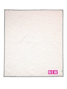 mamas-papas-coverlet-cotbedcot-pink-sprinkle