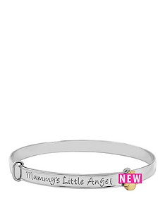 keepsafe-keepsafe-sterling-silver-with-9ct-gold-angel-039mummy039s-little-angel039-bangle