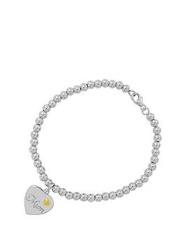 keepsafe-keepsafe-sterling-silver-and-9ct-gold-039mum039-bracelet