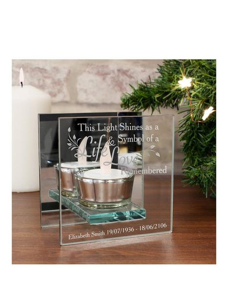 the-personalised-memento-company-personalised-in-loving-memory-glass-tealight-holder